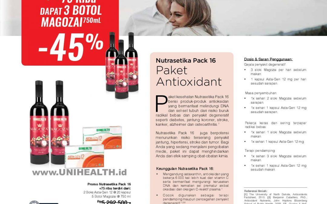 Nutrasetika Pack 16 Promo