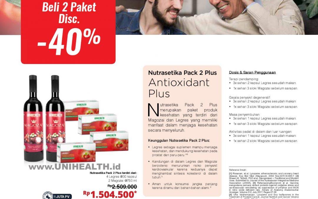 Nutrasetika Pack 2 Plus