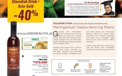 Glucodiab Drink + Astagold