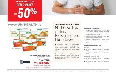 Nutrasetika Pack 3 Plus