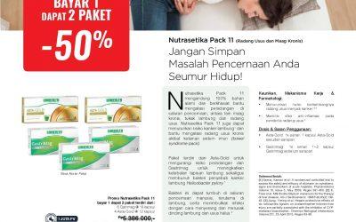 Nutrasetika Pack 11 Promo