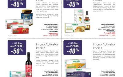 Imuno Activator Pack 4
