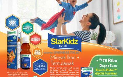 Starkidz Fish Oil Promo
