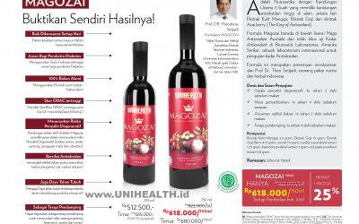 MAGOZAI 750 ml Promo